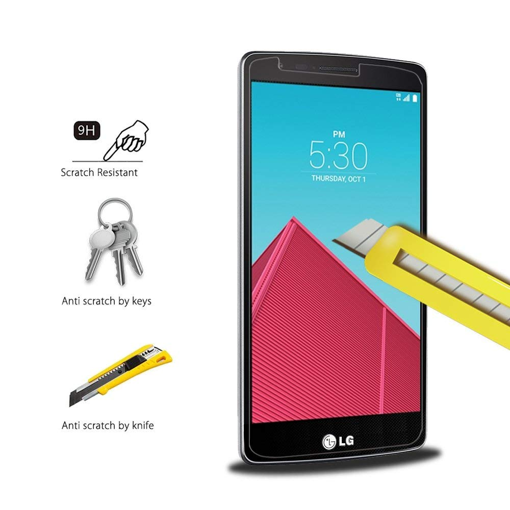 Ranmel Glass Untuk Lg G4 Stylus Premium Tempered Glass Round Edge Source · Tempered Glass Screen