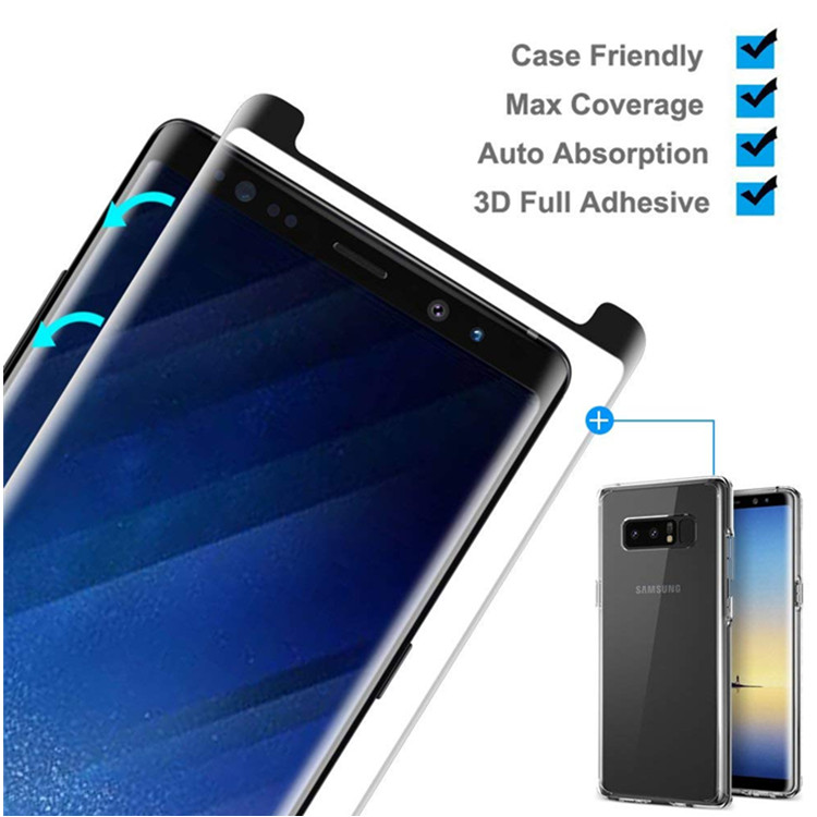 Samsung Note 8 Full Adhesive Tempered Glass