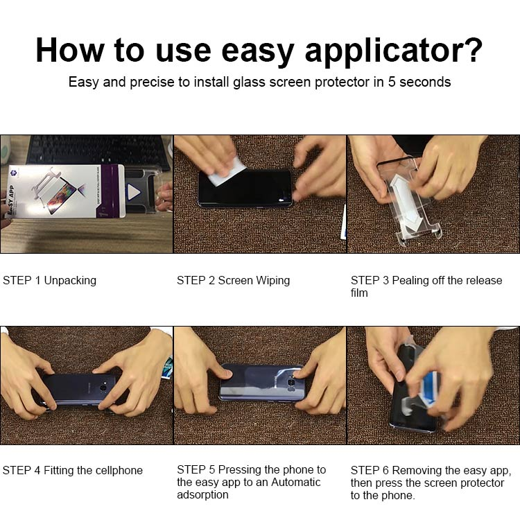 samsung galaxy note 8 screen protector with easy installation frame