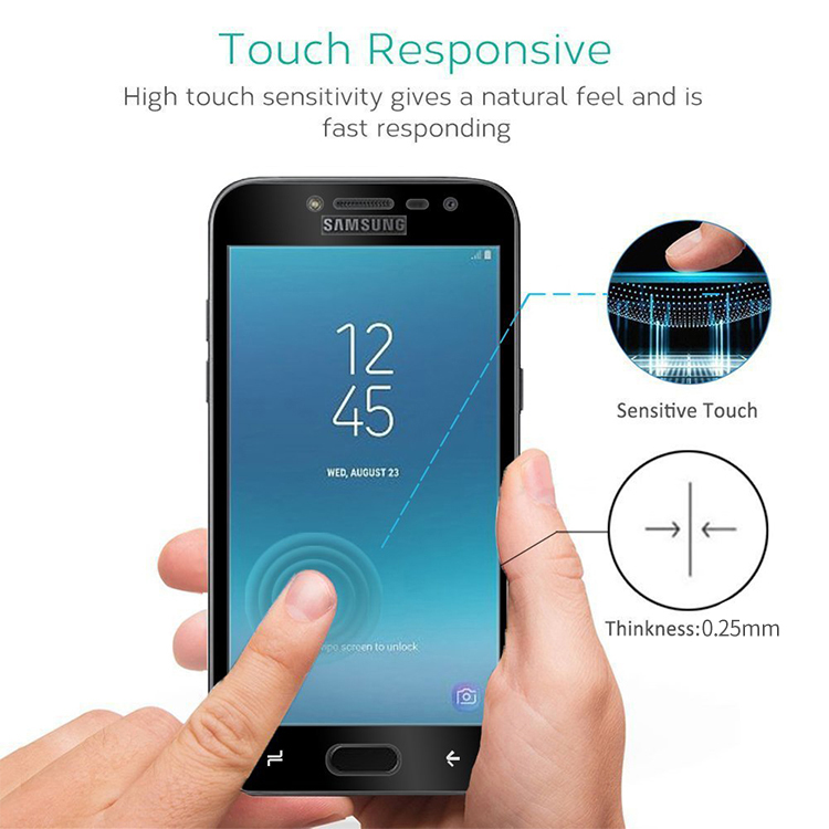 samsung galaxy j2 prime tempered glass screen cover