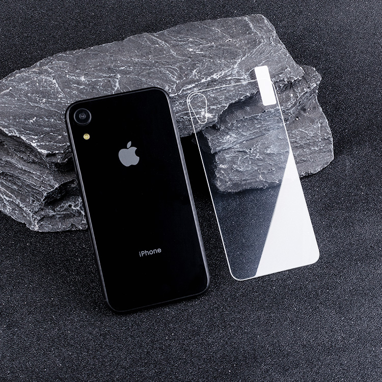 iphone xr back glass screen protectors cover