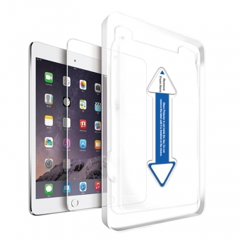 Ipad mini 4 clear tempered glass screen guard with applicator