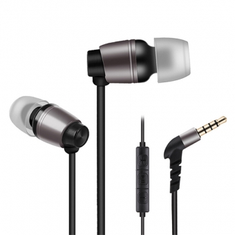 In-ear wired earphones stereo headphones with microphone