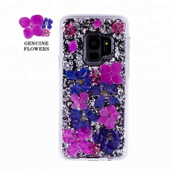 Samsung galaxy s9 plus pressed flower cell phone covers