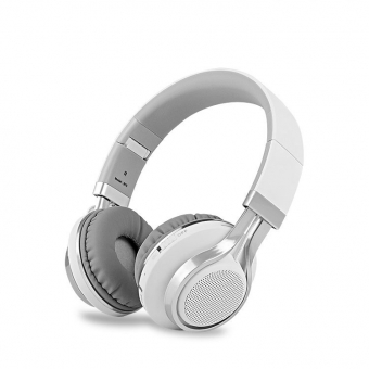 Wireless bluetooth headphones with FM radio
