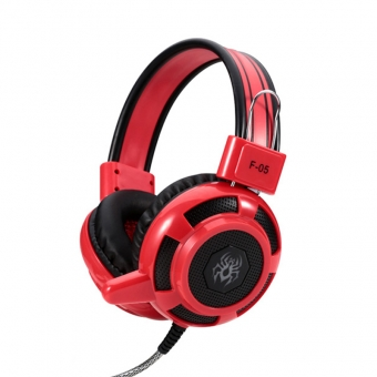 3.5mm wired over ear stereo gaming headphones for pc computer