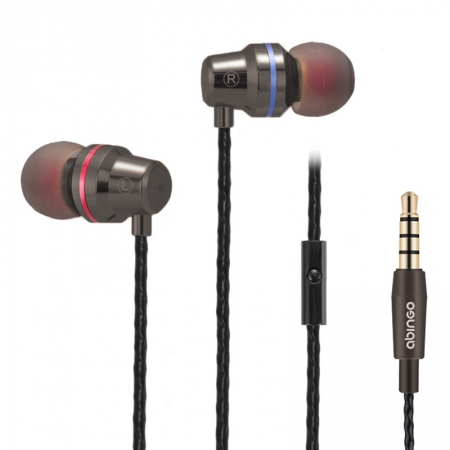 Super bass In-Ear Headphones Earbuds Stereo Earphones with Mic for Smartphones