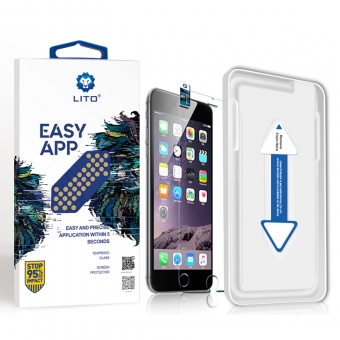 Iphone 6/6s glass screen protector with installation tool