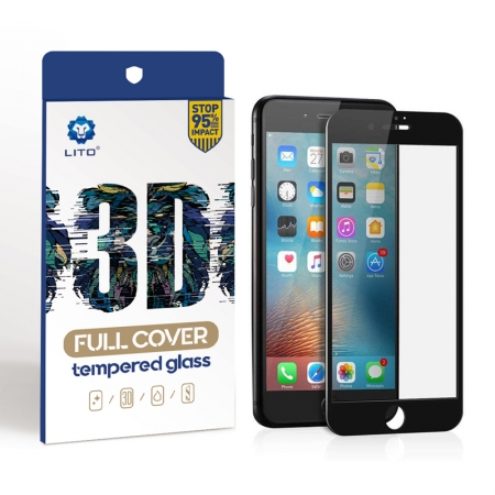 Apple iPhone 6/6s Plus 3D Shatterproof Tempered Glass Screen Protectors