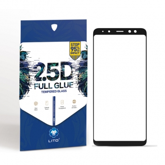 Samsung galaxy a8/a5 2018 full cover tempered glass screen cover