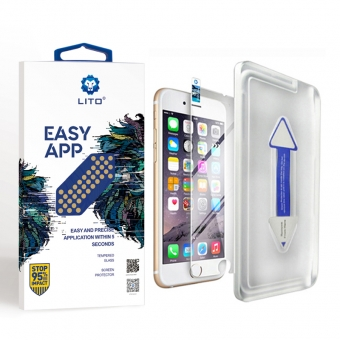 Glass screen protector iphone 7/8 with applicator kit