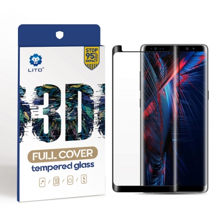 Samsung Galaxy Note 8 Case Friendly Tempered Glass Screen Protectors