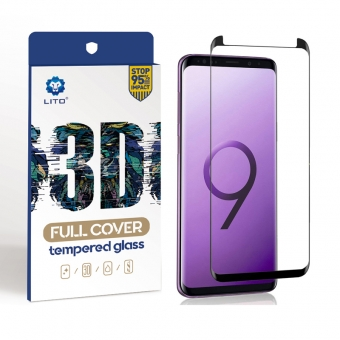 Samsung galaxy s9 full adhesive tempered glass screen protector