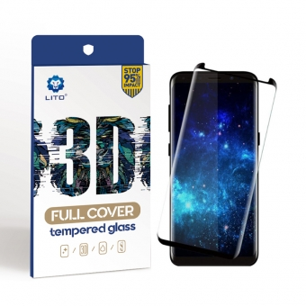 Full cover tempered glass screen protector samsung galaxy s8