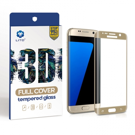 Samsung Galaxy S7 Edge Full Screen Curved Tempered Glass Screen Protector