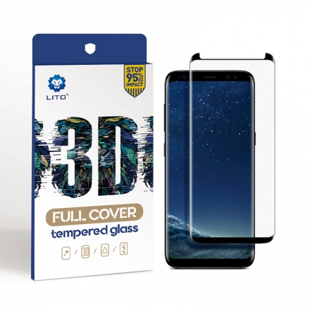 Samsung Galaxy S8 Plus Full Cover Full Adhesive Tempered Glass Screen Protector