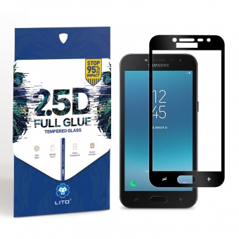 Samsung galaxy j2 prime full cover tempered glass screen protector shield