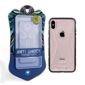 Iphone xs max armor durable bumper phone cover cases shockproof