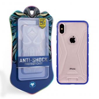 Iphone xs armor hybrid tpu pc back cover shockproof cellphone cases