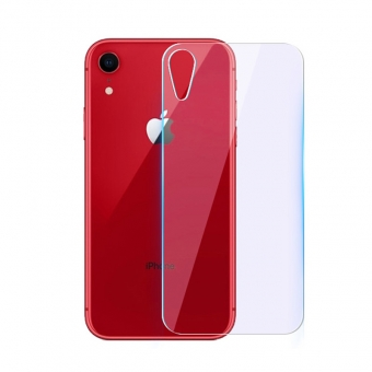 Iphone xr 9h hardness back tempered glass screen protector cover