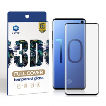 Samsung Galaxy S10 Plus Full Covered Tempered Glass Screen Protector