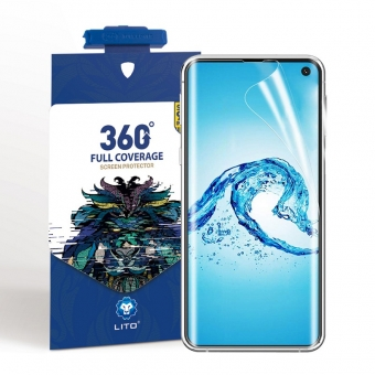 Samsung galaxy s10 nano tpu full protection screen protector with applicator