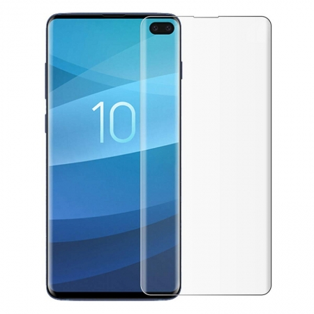 Samsung Galaxy S10 Plus HD Clear Screen Protector Film with Easy Installation Tray