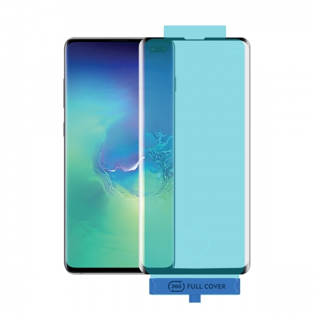 Samsung Galaxy S10/S10 Plus Full Cover Tempered Glass With Universal Installation Tool