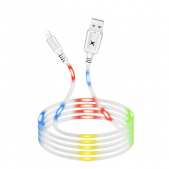 Best Voice-Activated Glows Durable Charger Cable USB Micro/I5/ Type C Cable Fast Charging Cable For Sale