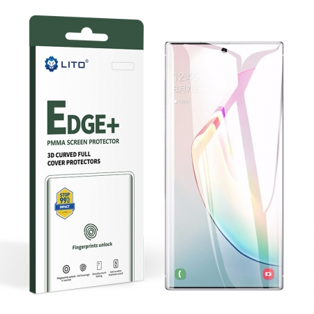 Edge+ Full Coverage Full Glue PMMA Glass Screen Protector For Samsung Galaxy Note10
