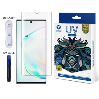 Best LITO E+ UV Optical Liquid Glue Full 3D Coverage Glass Screen Protector For Xiaomi CC9 Pro For Sale
