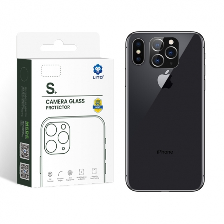 LITO S+ Full Coverage Scratch-Resistant Lens Protection X/XS/XS MAX Change To 11/Pro/Pro Max
