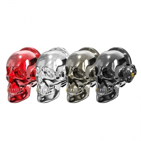 OneDer V7 Fashionable And Cool Skull Shape High-Quality Sound Wireless Bluetooth Speaker