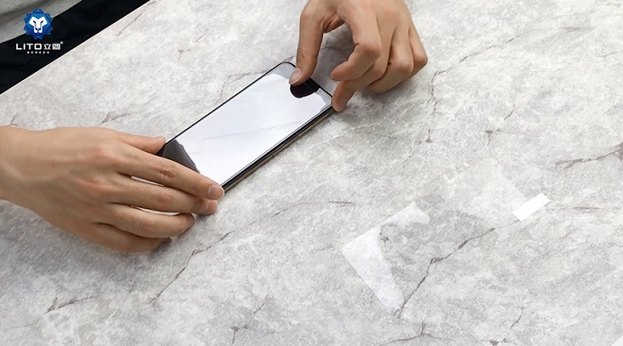 LITO Transparent Tempered Glass Screen Protector