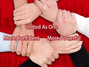 United As One, More Confident More Powerful